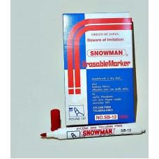 SNOWMAN White Board Marker Round Tip 70 dozen