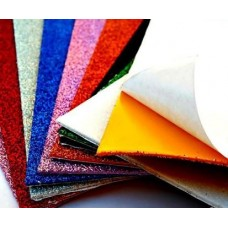 Glitter Fomic Sheets A4( pack of 10)