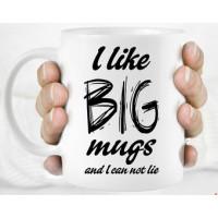 Custom Printed Large Mugs