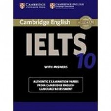 Cambridge English IELTS Book 10 with Answers & CD