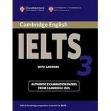 Cambridge English IELTS Book 3 with Answers & CD