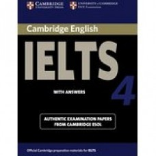 Cambridge English IELTS Book 4 with Answers & CD