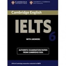 Cambridge English IELTS Book 6 with Answers & CD