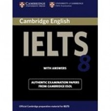 Cambridge English IELTS Book 8 with Answers & CD