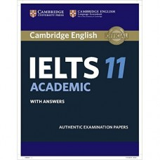 Cambridge English IELTS Book 11 with Answers & CD