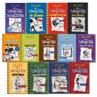 Diary of a Wimpy Kid: Complete Set of 14