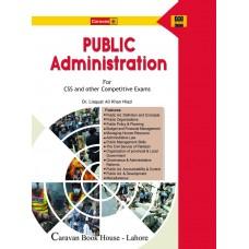Public Administration by Dr. Liaquat Ali Khan Niazi