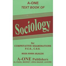 Text Book of Sociology, Musa Khan Jalalzai