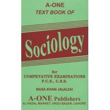 Text Book of Sociology, Musa Khan Jalalzai