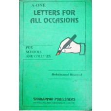 A-ONE Letters for all Occasions by Muhammad Masood