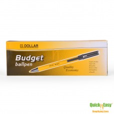 DOLLAR BUDGET Ball Pen Pack of 10
