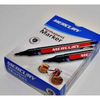 MERCURY Permanent Marker Round Tip Dozen