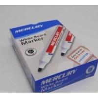 MERCURY WhiteBoard Marker Round Tip Dozen
