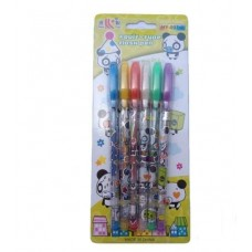 GLITTER Pen in Multicolours - pack of 6pcs