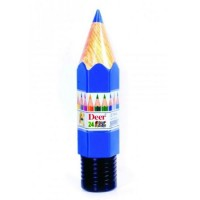DEER color pencils plastic Pack of 24
