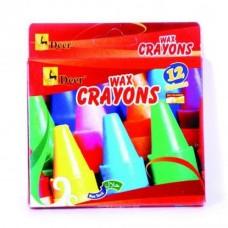 DEER Wax 12 Crayons Card Box