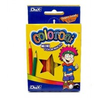 DUX COLORONI 12 color pencils Card Box half size