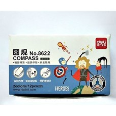 DELI Pink / Blue Heroes Compass Dozen