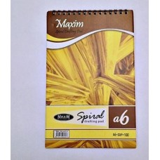 Spiral Drafting Pad 100 pages Size A6