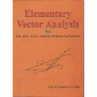 Elementary Vector Analysis, Prof. Dr. Nawazish Ali Shah