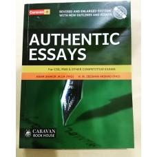 Authentic Essays by Amir Shakir Jajja & Zeeshan Arshad
