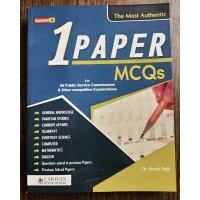 One Paper MCQs by Ch. Ahmad Najib