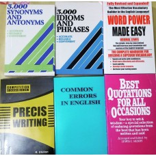 Set of 6 English Books by A-ONE