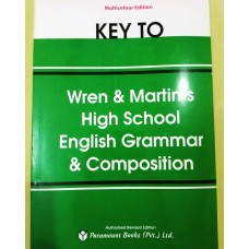 Key to Wren & Martin High School English Grammar & Composition
