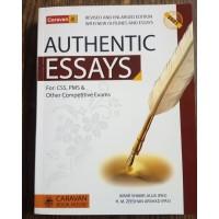 Authentic Essays by Amir Shakir Jajja & Zeeshan Arshad Caravan