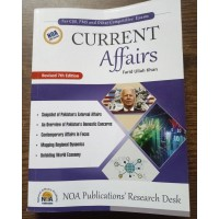 Current Affairs NOA by Farid Ullah Khan