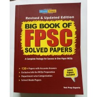 Big Book of FPSC Solved Past Papers JWT