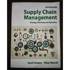 Supply Chain Management: Strategy, Planning & Operation