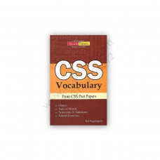 CSS VOCABULARY From CSS Past Papers – Jahangir WorldTimes Publications