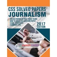 CSS Solved Papers Journalism 2017 Edition