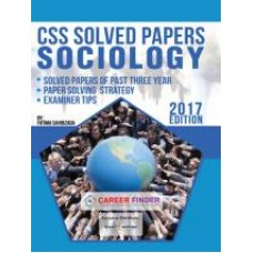CSS Solved Papers Sociology (2017 Edition)
