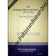 The Punjab Pre-Emption Act & KPK Pre-Emption Act