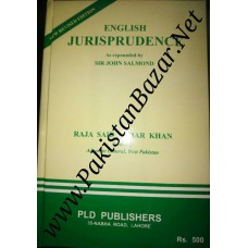 English Jurisprudence by Raja Said Akbar Khan