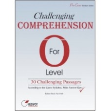 GCE O LEVEL CHALLENGING COMPREHENSION