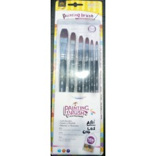 Paint brushes pack of 6