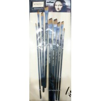 Paint brushes pack of 9 Bomega